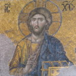 Mosaic of Christ Enthroned, Hagia Sophia, Istanbul